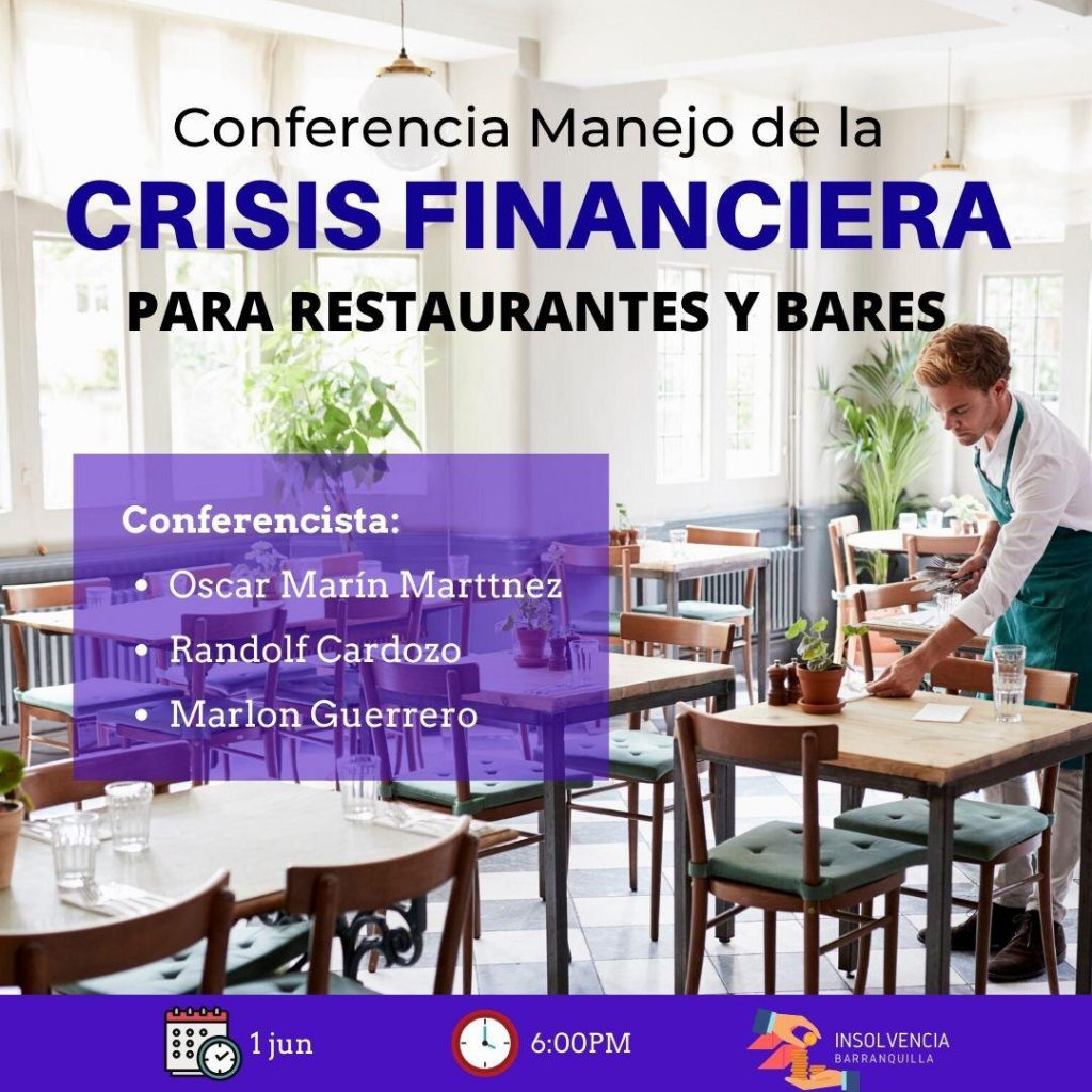 crisis financiera para restaurantes y bares
